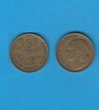 Quatrième République 50 Francs Guiraud  Cupro-Aluminium 1954 B Beaumont le Roger