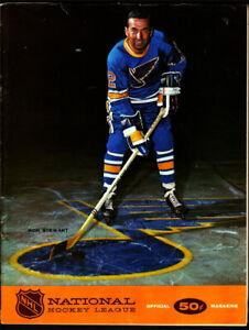 1968 Oakland Seals vs New York Rangers Game Program vtg NHL Hockey Gordie Howe