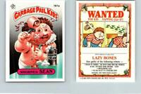 1986 SERIES 4 TOPPS GPK GARBAGE PAIL KIDS 161a SHORNED SEAN