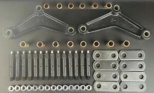 Tandem Axle Trailer Suspension Rebuild Kit Brass Wet Bolt Long Equalizers 3.125