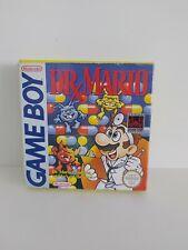 Nintendo GameBoy Dr Mario Game Boy Complete TESTED