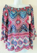 Lady summerAfrican style blouses made in Turkey size 22.
