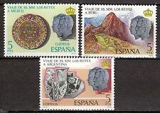 Spain - 1978 Royal visits to Mexico, Argentina & Peru - Mi. 2385-87 MNH