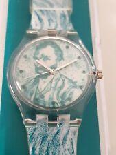Vincent van Gogh incluso retrato reloj extremadamente rare OVP mo watch rar