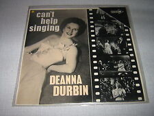 DEANNA DURBIN 33 TOURS USA CAN'T HELP SINGING