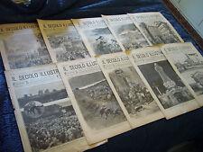 1901268  IL SECOLO ILLUSTRATO    10  NUMERI IN OFFERTA    SPEDIZIONE GRATIS