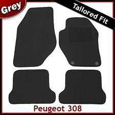 Peugeot 308 CC Coupe Cabriolet 2009 onwards Tailored Fitted Carpet Car Mats GREY