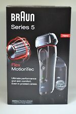 Braun 5050cc Series 5 Premium Shaver + Clean&Charge Station Flex MotionTec
