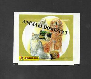 Panini Domestic Pets Unopened Packet wrapper -  Animali Domestici variant