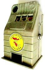 "VINTAGE 1950'S METAL ""JACK POT BANK""  RENO - NEVADA - SLOT MACHINE"