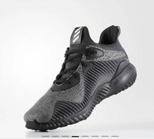 adidas Alphabounce Reflective HPC AMS Black/ Gray Running Shoes - Men's US 11