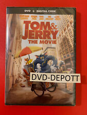 Tom &(and) Jerry: The Movie DVD & DIGITAL Brand New FAST Free Shipping