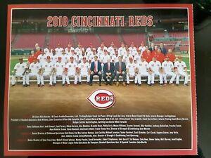 Cincinnati Reds Team Photo 2018 8x10 SGA