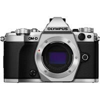 Olympus OM-D E-M5 Mark II Mirrorless Micro 4/3 (Body, Silver) V207040SU000RB