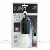 PULL ON LIGHT Cordless Bright LED Light Camping Garage Wardrobe **NEW**
