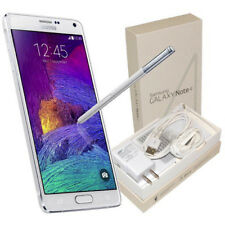 New Samsung Galaxy Note 4 Sm-N910A 32Gb At&T White Unlocked Smartphone