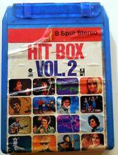 CARTRIDGE TRACK TAPE CASSETTA STEREO 8 HIT BOX ADAMO NINA LIZELL FORTUNES 1971