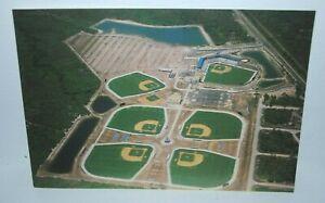 1980s Charlotte County Stadium postcard, Spring Home of Texas Rangers