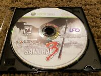 Way of the Samurai 3 (Microsoft Xbox 360, 2009) DISC ONLY