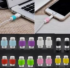 *USA SELLER* 1PC Protector Saver Cover for Apple iPhone Charger Cable USB Cord