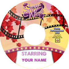 Snow White Personalised DVD starring YOU! FREE POSTAGE WORLDWIDE