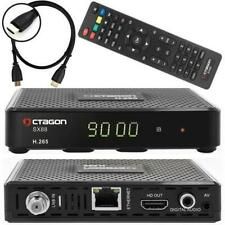 Octagon SX88 Satelliten Sat Receiver DVB-S/S2 Multistream inkl. HDMI Kabel