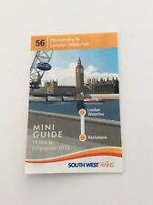 South West Trains - 56 Haslemere/Waterloo Mini Guide - 19 May to 7 December 2013