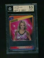 2015 Panini WWE Action Cards Emma BGS 9.5