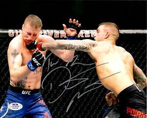 Dustin Poirier autographed signed inscribed 8x10 photo UFC The Diamond PSA COA