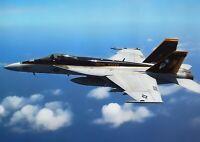 A1 Fighter Jet Plane Fa 18 Hornett Poster Art Print 60 x 90cm 180gsm Gift #13083