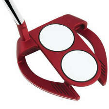 """ODYSSEY O WORKS RED 2-BALL FANG S PUTTER 34"""" SUPERSTROKE MIDSLIM 2.0 GRIP   600"""