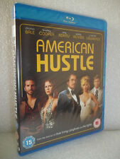 American Hustle (Blu-ray) Jennifer Lawrence, Bradley Cooper - New/Sealed