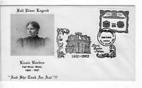 LIZZIE BORDEN Envelope 100TH Anniversary. Postmarked-See Description- LIMITED!
