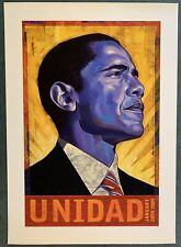 Barack Obama unidad print unite 2009 presidential limited edition rafael lopez