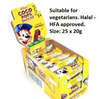 KELLOGG'S COCO POPS 20g SNACK BARS 20g x 25 INDIVIDUAL BARS 226773