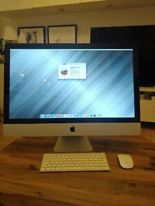 Apple iMac 27 core i5 1TB 12gb RAM  Immaculate condition