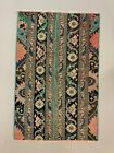 Distressed Turkish Rug 107x69 cm Vintage Shabby, Runner, Green, Brown Small