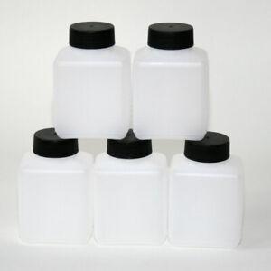 Weithalsflasche Plastik-Flasche Labor Aufbewahrung PVC Kunststoff 250 - 500 ml