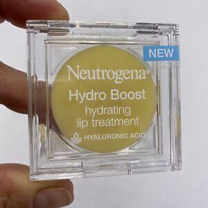 3 x Neutrogena Hydro Boost Hydrating Lip Treatment w/ Hyaluronic Acid 0.1oz