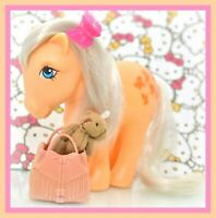 ❤️My Little Pony G1 Vtg ITALY Italian Variant Butterscotch Silver Hair NIRVANA❤️