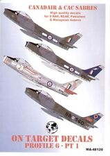 Model Alliance 1/72 North-American F-86 Canadair and CAC Sabres Part 1 # 72120