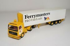 A5 63 1:50 SMITH MODEL VOLVO 12 TURBO P&O FERRYMASTERS TRUCK WITH TRAILER