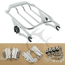 2 Up Air Wing Luggage Rack 4 Point Docking Fit For Harley Road Glide 2009-2013