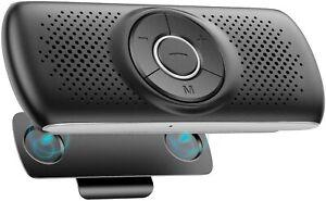 AGPTEK Wireless Bluetooth Hands Free Car Kit Speakerphone Speaker Phone Visor