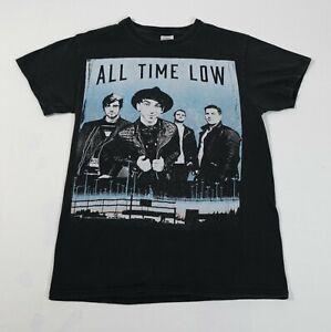 All Time Low Black Short Sleeve Tour T-Shirt Sz S