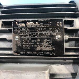 Mov.el MOT.3-MV71B4 Torque Motor, 230/400V, 50 Hz, 1430 RPM USIP