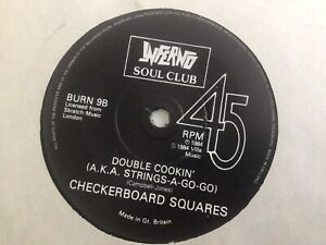 Double Cookin' - Checkerboard Squares/ Fatger's Angels