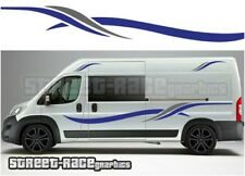 Motorhome Campervan 005 graphics stickers decal Fiat Ducato Citroen Relay Boxer