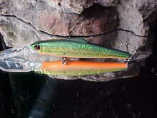 "Discontinued MegaBait 3 1/2"" Mega Sniper 90-03 Suspending Minnow - Bass/Walleye"
