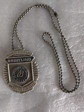 Original Breitling Anhänger Metall, Eintrittskarte Baselworld 2012